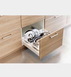 Oak drawer | IKEA Ekestad kjøkken