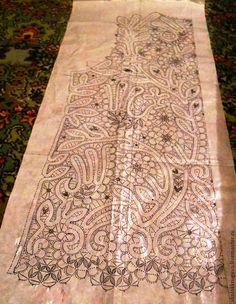 Другие виды рукоделия ручной работы. Ярмарка Мастеров - ручная работа сколок жилета  большого размера. Handmade.