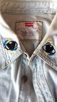 eyes #merombakbajuteman #handembroidery #embroidery #sulamtangan