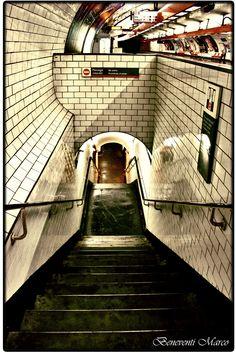 "My novel ""Subway Hitchhikers"" runs through a world like this. Into the Depths - Paris Underground Tube, Underground Cities, Pray For Paris, I Love Paris, Metro Paris, Rapid Transit, Romantic Places, Paris Photos, Most Beautiful Cities"