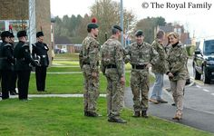 The Countess of Wessex visited the Ward Barracks in Bulford as Royal Colonel of the 5th Battalion The Rifles. The Countess became Royal Colonel of 5 Rifles after reorganisation of the Infantry in 2007 and today's visit follows their return from Germany. The 5 Rifles have returned from their posting in Paderborn and now are based at the Bulford Barracks in Wiltshire.