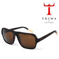 TRIWA(トリワ) サングラス マッドブラウン×ベージュ×ブラウンスモーク SHADES【送料無料】 sg-triwa-006