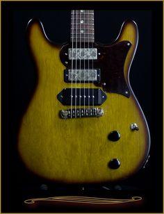 Echopark El Cabillo Korina Custom 3 Pickup at The Guitar Sanctuary McKinney Texas