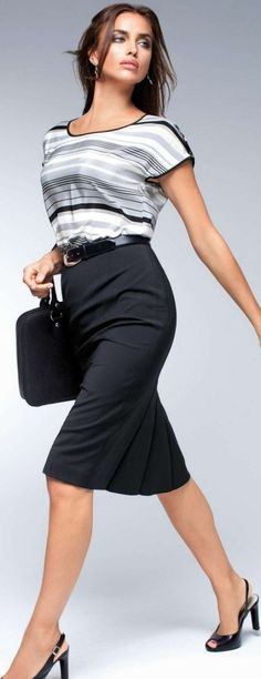 Great style re the top, no need for a jacket... #Personal Leadership #Women