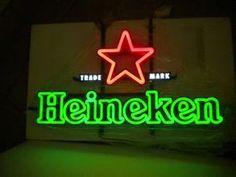 UL Heineken Beer Neon Light Sign for KTV - China Neon Light Sign