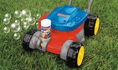 bubble lawn mower! perfect for quinn :) !