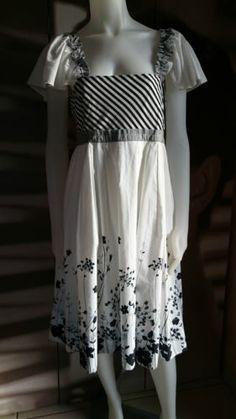ALL-BEAUTIFUL-BY-ENJOY-Robe-noir-blanc-TAILLE-40-Valeur-boutique-110-REF051-1