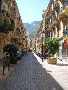 A street in Monte Carlo