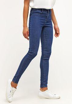 Noisy May NMPARIS - Jeans slim fit - dark blue denim - Zalando.it