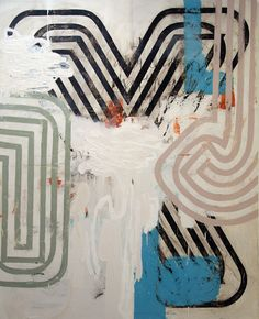 Harold Hollingsworth – Textural Graphic Abstract Beauty
