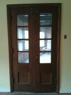 Diningroom French doors 2013.