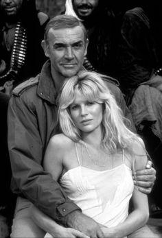Sean Connery and Kim Basinger