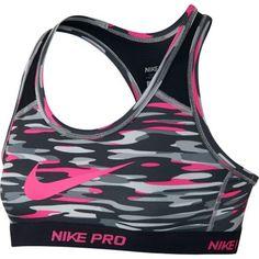 90c350ed5aeb2 Girls  Nike Pro Hypercool Allover Print Bra. Mallory · Sports