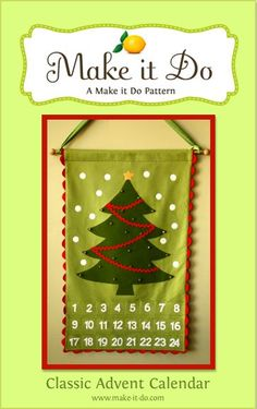 If I ever learn to sew. This is so cute! (Really, I wish I could make a Truth in the Tinsel version. Wouldn't that be awesome?!)