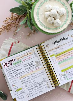 Scrapbook all your favorite recipes into the Keepsake Kitchen Diary - a family cookbook and memory keeper recipe book Homemade Recipe Books, Homemade Cookbook, Diy Recipe Book, Recipe Book Design, Cookbook Design, Cookbook Ideas, Scrapbook Recipe Book, Family Recipe Book, Family Recipes
