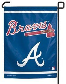 Atlanta Braves 11''X15'' Garden Flag by Hall of Fame Memorabilia. $9.95. This Is An Officially Licensed Garden Flag. The Durable Polyester Flag Measures 11'' X 15'' And Is Machine Washable. The Flag Is Designed To Hang Vertically From A Garden Flag Pole Or Inside As Wall Decor. Poles Sold Separately.Images Shown May Differ From The Actual Product.