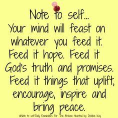 Note to self…Jan. - Note to self…Jan. Note to self…Jan. Bible Verses Quotes, Faith Quotes, Wisdom Quotes, True Quotes, Scriptures, Spiritual Quotes, Positive Quotes, Positive Thoughts, Note To Self Quotes