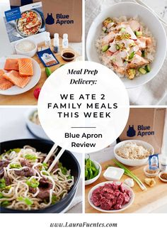Thinking about subscribing to a meal prep delivery service to help with your weekly family meal plan? Check out this Blue Apron Review first!