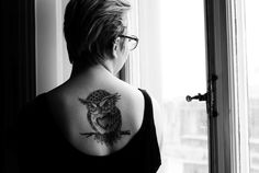 tatuagem de coruja feminina 4