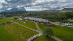 Lofotr Viking Museum - Las Islas Lofoten, Noruega.
