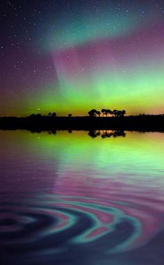 Aurora in Scotland
