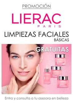¿Quiéres conocer los productos faciales de LIERAC? Aprovecha nuestra promoción: #linpiezafacial básica GRATUITA
