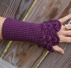 Crochet desde El Tabo.: 30 Guantes tejidos a crochet para elegir.
