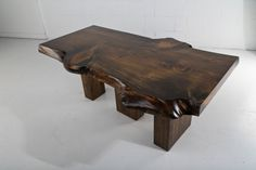 Live Edge Slab Coffee table by AntonMakaDesigns on Etsy