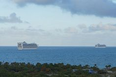 Princess Ships heading from Port Everglades
