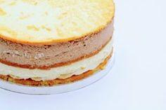 Lagkage lavet i bagering.  Tips Hvordan du gør.
