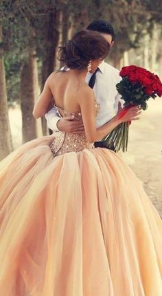 Life Like A Fairytale. so pretty..the dress color is a perfect shade for a renewal in my opinion!!