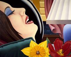 Obra: 'Bedroom Painting #39' 'Pintura de dormitorio nº 39'  Fecha: (1978), una de las obras del artista expuestas en la retrospectiva