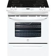 "$1109.24//Kenmore 30"" Self Clean Slide-In Electric Range w /Ceramic Smoothtop Cooktop at Sears.com"