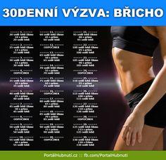 30denní výzva na břicho