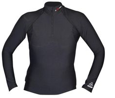 McDavid HexPad Freeride Protective Shirt for WomenThe McDavid Freeride protective shirt for men features McDavid's breathable and flexible HexPad impact system, which incorporates articulated hexagonal pads that bend and conform to the body and allow full range of movement. With a half-zipper front and mock-turtle collar, the McDavid HexPad Freeride offers comfort and protection in one lightweight package.The McDavid HexPad Freeride Protective Shirt for Women features:HexPad impact