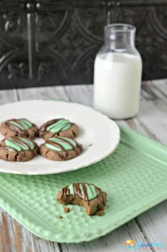 Mint Chocolate Cooki