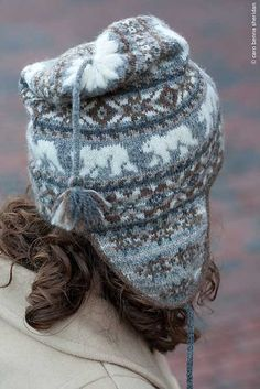 Ravelry: Polar Chullo pattern by Mary Ann Stephens