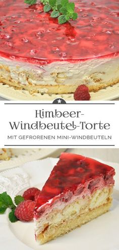 Himbeer-Windbeutel-Torte - Eine kleine Prise Anna - Himbeer-Winbeutel-Torte Himbeer-Winbeutel-Torte Himbeer-Winbeutel-Torte Welcome to our website, We - Torte Au Chocolat, Cream Puff Cakes, Cream Cake, Green Curry Chicken, Red Wine Gravy, Dessert Oreo, Best Pie, Flaky Pastry, Mince Pies
