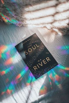 """Brandon Woelfel photograph of Nikita Gill's """"Your Soul Is A River"""""""