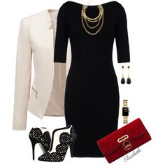 A  Must Have Outfit, Love The Detail On The Gorgeous Heels - Professionally Classy - Career Fashion - Without The Jacket, Evening Fashion