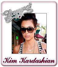 Kim Kardashian Namensschmuck