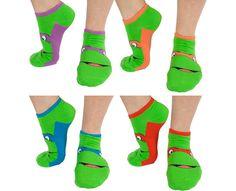 Calcetines de las Tortugas Ninja