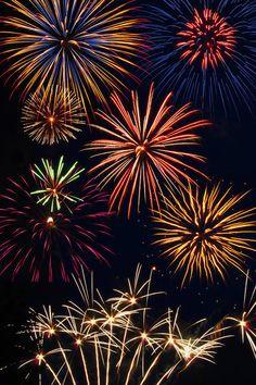 <3 Beautiful fireworks <3
