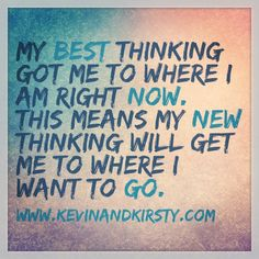 So, what are you thinking?! #direction #motivation #inspiration #mentor #coach #mindset #quote