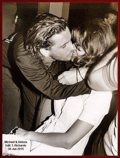 Loved these two as a couple (for nearly 5 years) ~ Michael & Helena. Michael Hutchence, Helena Christensen, Stay Young, Film Music Books, Kinds Of Music, Beautiful Couple, Supermodels, How To Memorize Things, Singer