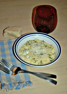 Macarongigli (Little Macaroni) - with olive oil and pecorino romano cheese (or parmesan?)