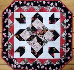 Quilted Table Topper Star Quality