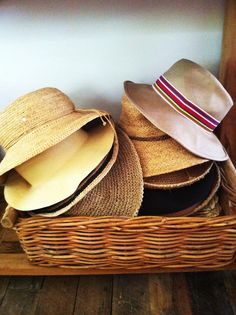 sunhats - wish I looked good in a hat...perhaps I'll find a style that suits me one day