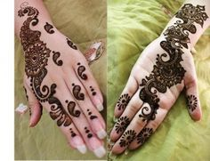 Fashion Alert: How to make Arabic mehndi designs