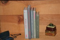 A Vintage Gray Instant Library  5 Books by RiverOfTimeTreasures, $25.00